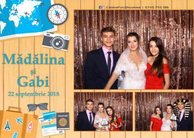 Cabina Foto Showtime - FUN BOX - Nunta - Madalina si Gabi - Restaurant Posada Events - Ramnicu Valcea - (121)