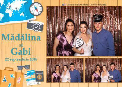 Cabina Foto Showtime - FUN BOX - Nunta - Madalina si Gabi - Restaurant Posada Events - Ramnicu Valcea - (122)