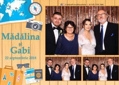 Cabina Foto Showtime - FUN BOX - Nunta - Madalina si Gabi - Restaurant Posada Events - Ramnicu Valcea - (123)