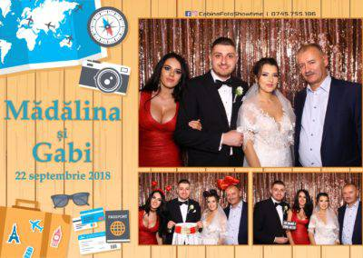 Cabina Foto Showtime - FUN BOX - Nunta - Madalina si Gabi - Restaurant Posada Events - Ramnicu Valcea - (124)