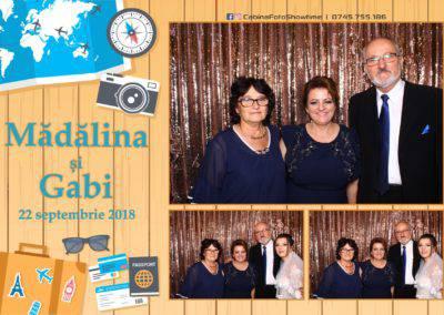 Cabina Foto Showtime - FUN BOX - Nunta - Madalina si Gabi - Restaurant Posada Events - Ramnicu Valcea - (125)