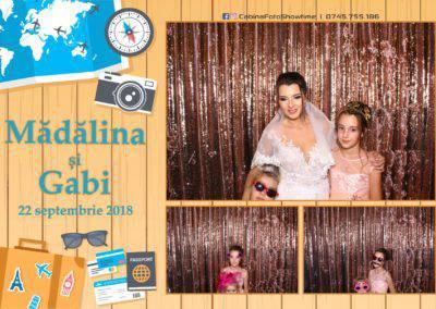 Cabina Foto Showtime - FUN BOX - Nunta - Madalina si Gabi - Restaurant Posada Events - Ramnicu Valcea - (126)