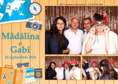 Cabina Foto Showtime - FUN BOX - Nunta - Madalina si Gabi - Restaurant Posada Events - Ramnicu Valcea - (127)