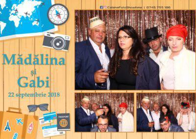 Cabina Foto Showtime - FUN BOX - Nunta - Madalina si Gabi - Restaurant Posada Events - Ramnicu Valcea - (128)