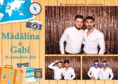 Cabina Foto Showtime - FUN BOX - Nunta - Madalina si Gabi - Restaurant Posada Events - Ramnicu Valcea - (129)