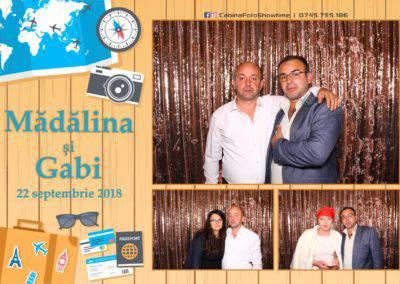 Cabina Foto Showtime - FUN BOX - Nunta - Madalina si Gabi - Restaurant Posada Events - Ramnicu Valcea - (130)