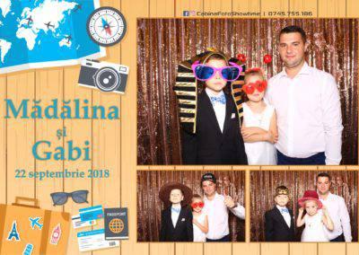 Cabina Foto Showtime - FUN BOX - Nunta - Madalina si Gabi - Restaurant Posada Events - Ramnicu Valcea - (19)