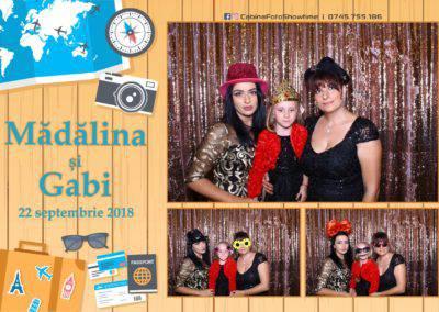 Cabina Foto Showtime - FUN BOX - Nunta - Madalina si Gabi - Restaurant Posada Events - Ramnicu Valcea - (29)