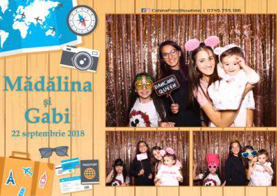 Cabina Foto Showtime - FUN BOX - Nunta - Madalina si Gabi - Restaurant Posada Events - Ramnicu Valcea - (4)