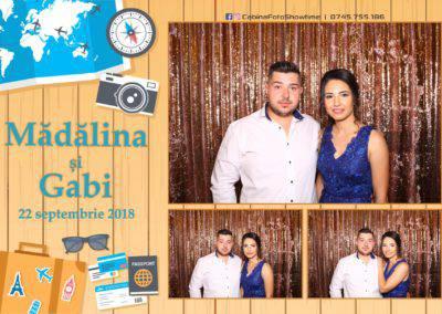 Cabina Foto Showtime - FUN BOX - Nunta - Madalina si Gabi - Restaurant Posada Events - Ramnicu Valcea - (50)
