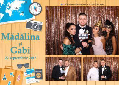Cabina Foto Showtime - FUN BOX - Nunta - Madalina si Gabi - Restaurant Posada Events - Ramnicu Valcea - (56)