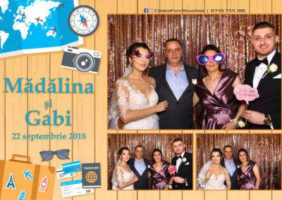 Cabina Foto Showtime - FUN BOX - Nunta - Madalina si Gabi - Restaurant Posada Events - Ramnicu Valcea - (60)