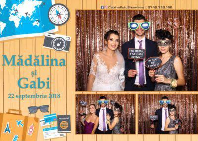 Cabina Foto Showtime - FUN BOX - Nunta - Madalina si Gabi - Restaurant Posada Events - Ramnicu Valcea - (63)
