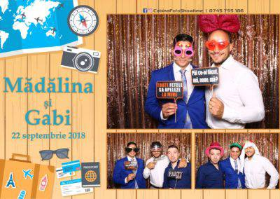 Cabina Foto Showtime - FUN BOX - Nunta - Madalina si Gabi - Restaurant Posada Events - Ramnicu Valcea - (65)
