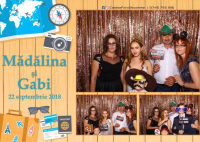 Cabina Foto Showtime - FUN BOX - Nunta - Madalina si Gabi - Restaurant Posada Events - Ramnicu Valcea - (71)