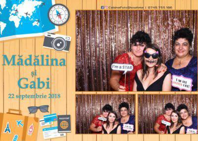 Cabina Foto Showtime - FUN BOX - Nunta - Madalina si Gabi - Restaurant Posada Events - Ramnicu Valcea - (73)