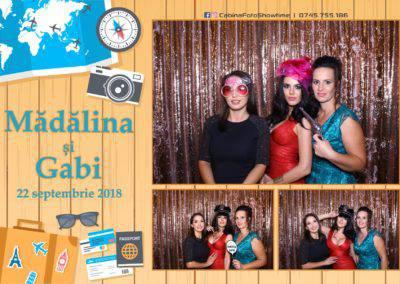 Cabina Foto Showtime - FUN BOX - Nunta - Madalina si Gabi - Restaurant Posada Events - Ramnicu Valcea - (75)