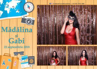 Cabina Foto Showtime - FUN BOX - Nunta - Madalina si Gabi - Restaurant Posada Events - Ramnicu Valcea - (76)