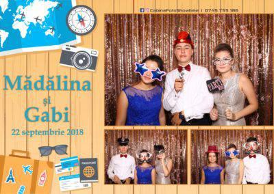 Cabina Foto Showtime - FUN BOX - Nunta - Madalina si Gabi - Restaurant Posada Events - Ramnicu Valcea - (81)