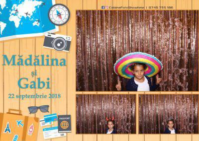 Cabina Foto Showtime - FUN BOX - Nunta - Madalina si Gabi - Restaurant Posada Events - Ramnicu Valcea - (85)