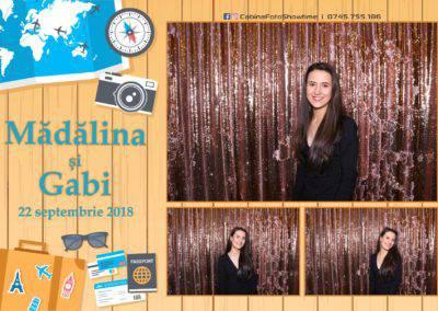 Cabina Foto Showtime - FUN BOX - Nunta - Madalina si Gabi - Restaurant Posada Events - Ramnicu Valcea - (86)