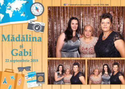 Cabina Foto Showtime - FUN BOX - Nunta - Madalina si Gabi - Restaurant Posada Events - Ramnicu Valcea - (88)