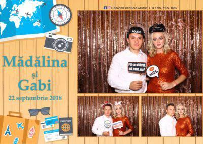 Cabina Foto Showtime - FUN BOX - Nunta - Madalina si Gabi - Restaurant Posada Events - Ramnicu Valcea - (89)