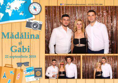 Cabina Foto Showtime - FUN BOX - Nunta - Madalina si Gabi - Restaurant Posada Events - Ramnicu Valcea - (90)