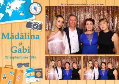 Cabina Foto Showtime - FUN BOX - Nunta - Madalina si Gabi - Restaurant Posada Events - Ramnicu Valcea - (91)