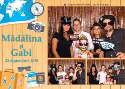 Cabina Foto Showtime - FUN BOX - Nunta - Madalina si Gabi - Restaurant Posada Events - Ramnicu Valcea - (92)