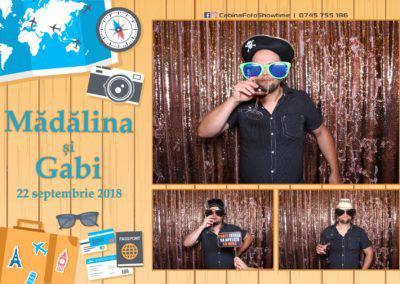 Cabina Foto Showtime - FUN BOX - Nunta - Madalina si Gabi - Restaurant Posada Events - Ramnicu Valcea - (93)