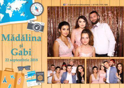 Cabina Foto Showtime - FUN BOX - Nunta - Madalina si Gabi - Restaurant Posada Events - Ramnicu Valcea - (94)