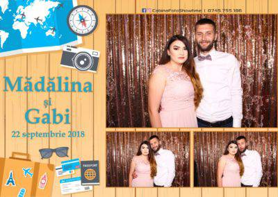 Cabina Foto Showtime - FUN BOX - Nunta - Madalina si Gabi - Restaurant Posada Events - Ramnicu Valcea - (95)