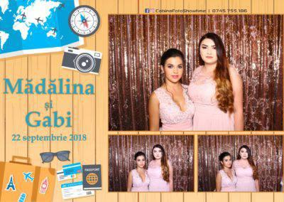 Cabina Foto Showtime - FUN BOX - Nunta - Madalina si Gabi - Restaurant Posada Events - Ramnicu Valcea - (96)