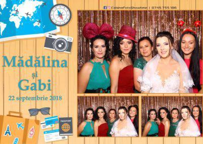 Cabina Foto Showtime - FUN BOX - Nunta - Madalina si Gabi - Restaurant Posada Events - Ramnicu Valcea - (97)