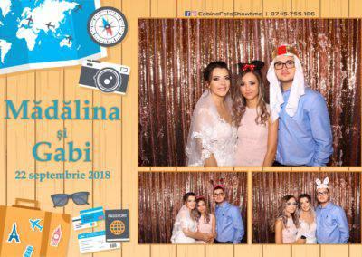 Cabina Foto Showtime - FUN BOX - Nunta - Madalina si Gabi - Restaurant Posada Events - Ramnicu Valcea - (98)