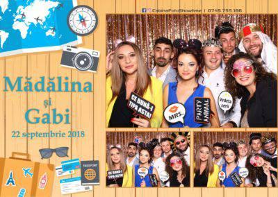 Cabina Foto Showtime - FUN BOX - Nunta - Madalina si Gabi - Restaurant Posada Events - Ramnicu Valcea - (99)