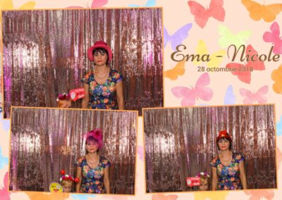 Cabina Foto Showtime - FUN BOX - Ema Nicole - Botez - Restaurant Aqua Events by Batca Dragasani (1)