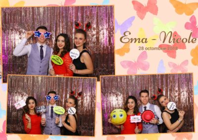 Cabina Foto Showtime - FUN BOX - Ema Nicole - Botez - Restaurant Aqua Events by Batca Dragasani (14)