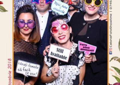 Cabina Foto Showtime - MAGIC MIRROR - Elena & Iulian - Nunta - Clubul Diplomatic Bucuresti (15)