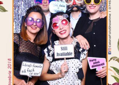 Cabina Foto Showtime - MAGIC MIRROR - Elena & Iulian - Nunta - Clubul Diplomatic Bucuresti (16)