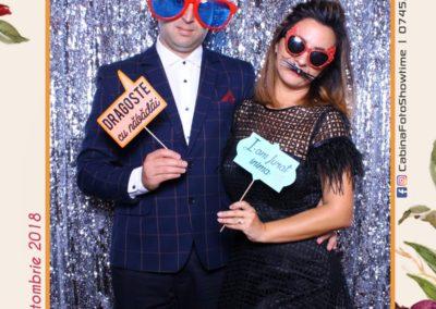 Cabina Foto Showtime - MAGIC MIRROR - Elena & Iulian - Nunta - Clubul Diplomatic Bucuresti (21)