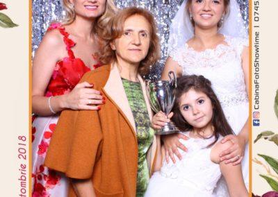 Cabina Foto Showtime - MAGIC MIRROR - Elena & Iulian - Nunta - Clubul Diplomatic Bucuresti (4)