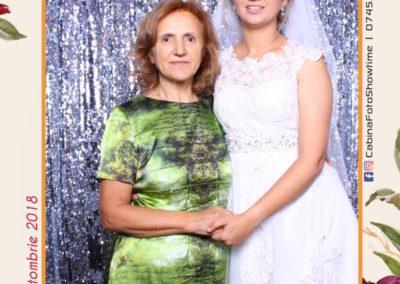 Cabina Foto Showtime - MAGIC MIRROR - Elena & Iulian - Nunta - Clubul Diplomatic Bucuresti (5)