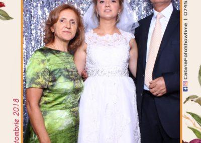 Cabina Foto Showtime - MAGIC MIRROR - Elena & Iulian - Nunta - Clubul Diplomatic Bucuresti (6)