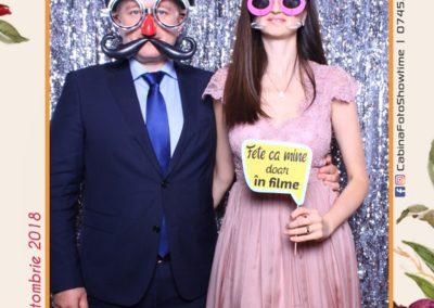 Cabina Foto Showtime - MAGIC MIRROR - Elena & Iulian - Nunta - Clubul Diplomatic Bucuresti (78)