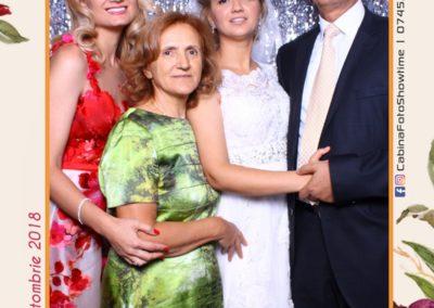 Cabina Foto Showtime - MAGIC MIRROR - Elena & Iulian - Nunta - Clubul Diplomatic Bucuresti (9)