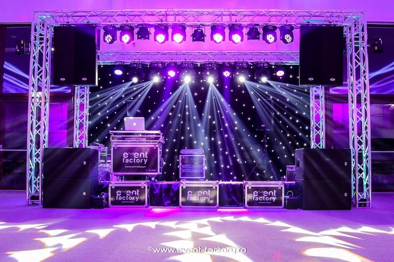 Echipament de sunet si lumini - Event Factory - Dj Vladu - Cabina Foto Showtime - Ramnicu Valcea - Nunta Botez Aniversare Majorat Eveniment Privat 1