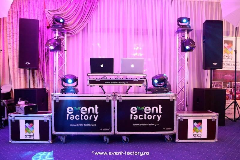 Echipament de sunet si lumini - Event Factory - Dj Vladu - Cabina Foto Showtime - Ramnicu Valcea - Nunta Botez Aniversare Majorat Eveniment Privat 4