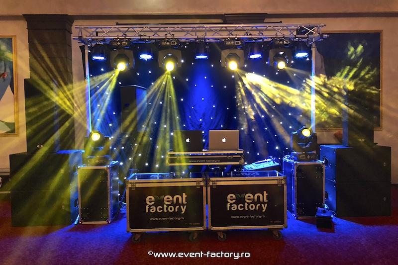 Echipament de sunet si lumini - Event Factory - Dj Vladu - Cabina Foto Showtime - Ramnicu Valcea - Nunta Botez Aniversare Majorat Eveniment Privat 5
